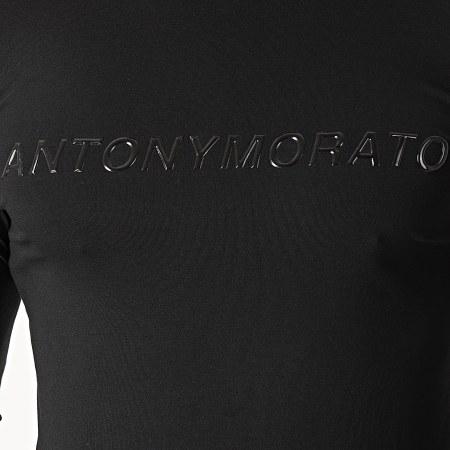 Antony Morato - Tee Shirt Manches Longues Abbigliamento MMKL0252 Noir