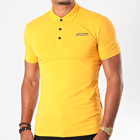 Antony Morato - Polo Manches Courtes Abbigliamento MMKS01600 Orange