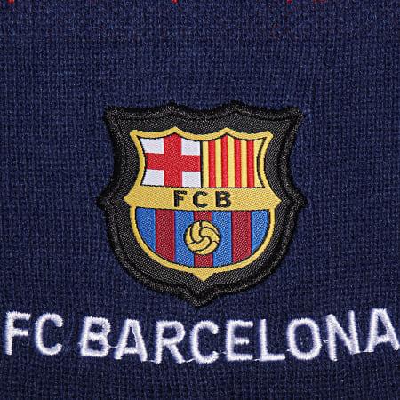 FC Barcelona - Bonnet Fan B19026 Bleu Marine Rouge