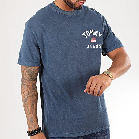 Tommy Hilfiger Jeans - Tee Shirt Chest Logo 7008 Bleu Marine