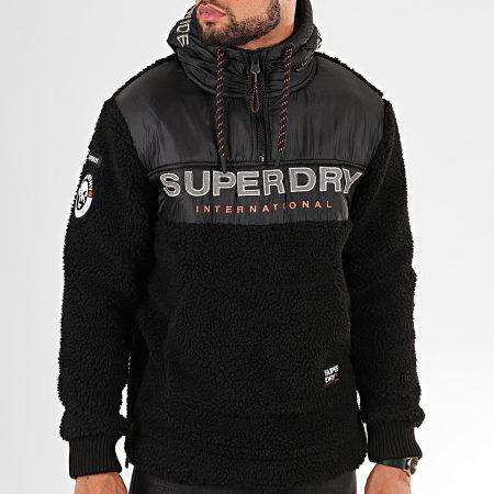 Superdry Pull à capuche Stealth Bleu Marine | Superdry