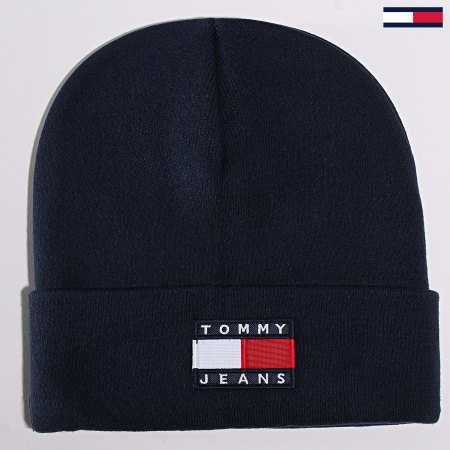 Tommy Hilfige Jeans - Bonnet Heritage Flag 5447 Bleu Marine