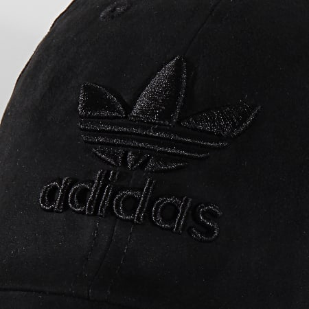 adidas - Casquette Suede Baseball ED8049 Noir