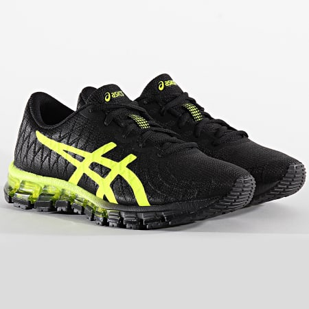 Asics - Baskets Gel Quantum 360 4 1021A308 Performance Black Flash Yellow