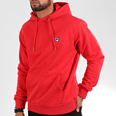 Fila - Sweat Capuche Victor 687458 Rouge