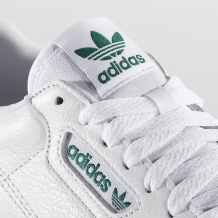 adidas - Baskets Continental Vulc EF3534 Footwear White Green