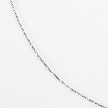 California Jewels - Collier Curb Argenté