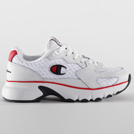 Champion - Baskets Femme CWA-1 Mesh Leather S10834 White Red Blue