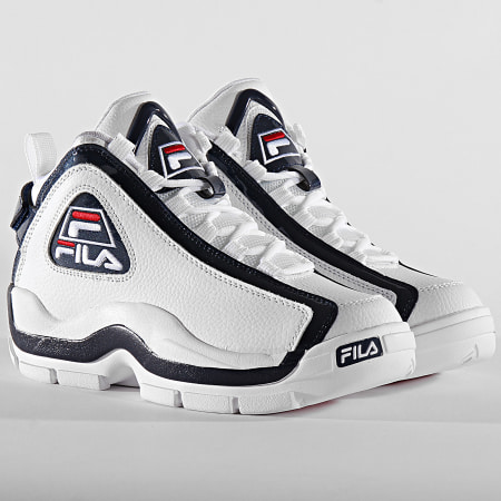 Fila - Baskets Grant Hill 2 1010788 White Fila Navy Fila Red