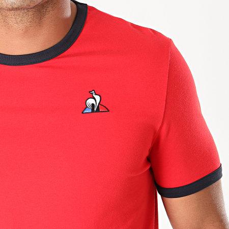 Le Coq Sportif - Tee Shirt Essential Bicolore N°1 1922428 Rouge