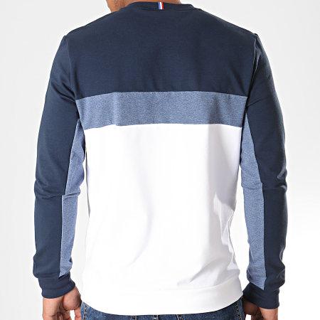 Le Coq Sportif - Sweat Crewneck Tricolore Saison N°1 1920493 Bleu Marine Blanc