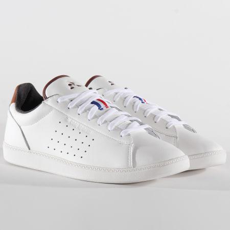 Le Coq Sportif - Baskets Courtstar Winter Denim 1920735 Optical White Cinnamon