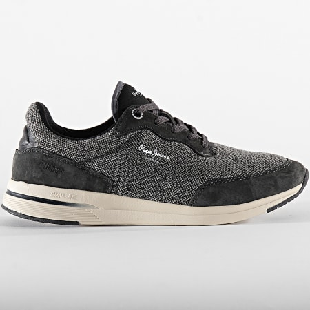 Pepe Jeans - Baskets Jayker Fabric PMS30576 Anthracite