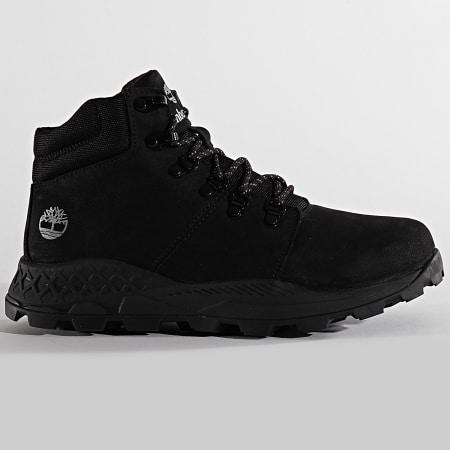 Timberland - Boots Brooklyn Low Hiker A27PQ Black Nubuck