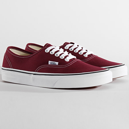 Vans - Baskets Authentic A38EMQSQ Burgundy True White
