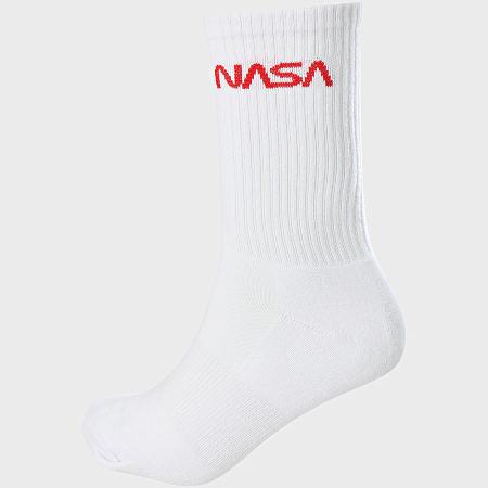 NASA - Lot De 3 Paires De Chaussettes MT2021 Blanc