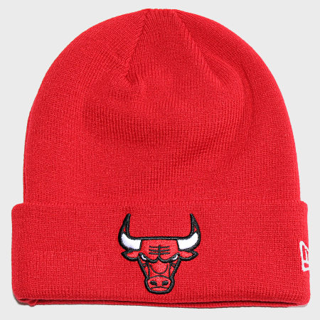 New Era - Bonnet Team Essential Cuff 11794613 Chicago Bulls Rouge