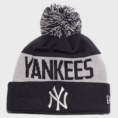 New Era - Bonnet Team Tonal Knit 12040199 New York Yankees Bleu Marine