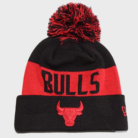 New Era - Bonnet Team Tonal Knit 12040202 Chicago Bulls Noir