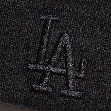 New Era - Bonnet Team Cuff Knit 12040221 Los Angeles Dodgers Noir