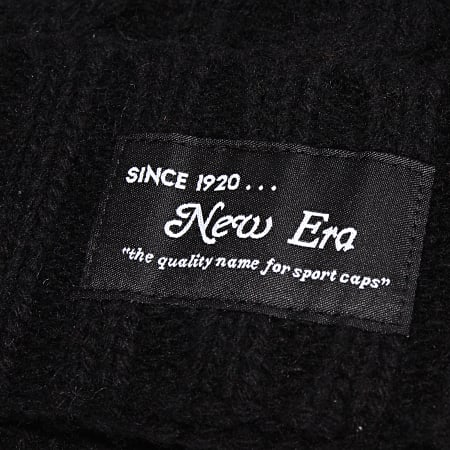 New Era - Bonnet Ribbed Cuff 12040315 Noir