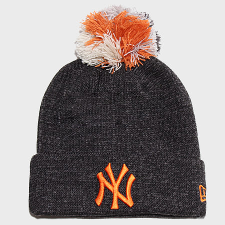 New Era - Bonnet Multi Bobble Cuff 12040367 New York Yankees Gris Anthracite Chiné