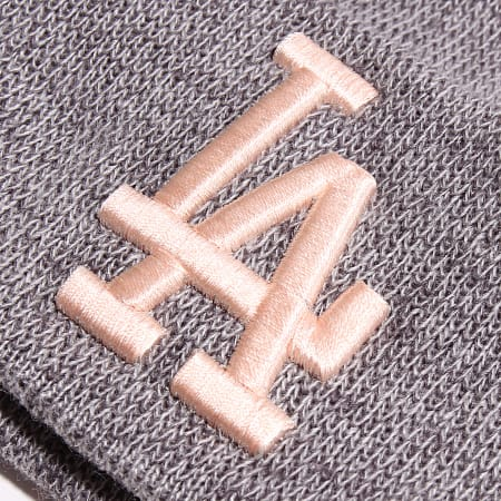 New Era - Bonnet Multi Bobble Cuff 12040368 Los Angeles Dodgers Gris Chiné