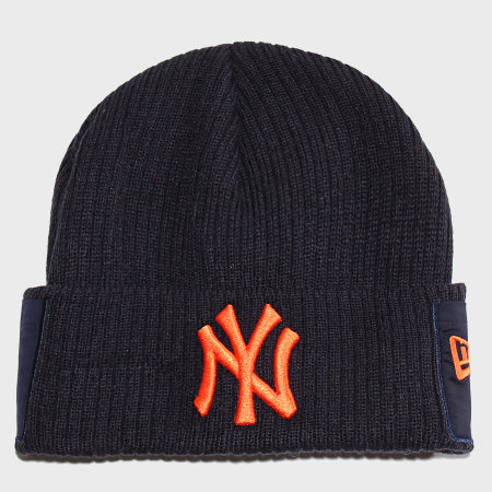 New Era - Bonnet Utility Cuff 12040375 New York Yankees Bleu Marine
