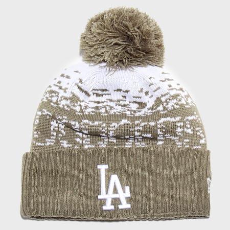 New Era - Bonnet Sport Knit 12040379 Los Angeles Dodgers Vert Kaki