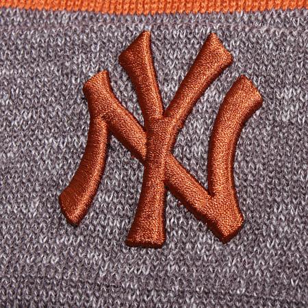 New Era - Bonnet Marl Cuff Knit 12040405 New York Yankees Gris Chiné
