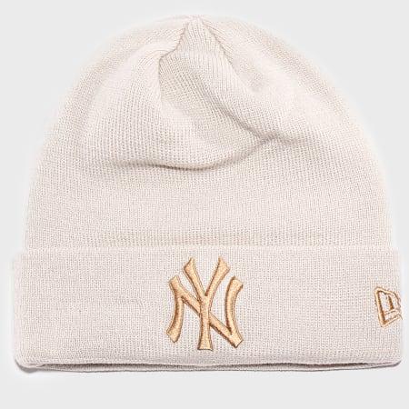 New Era - Bonnet League Essential 12040423 New York Yankees Ecru