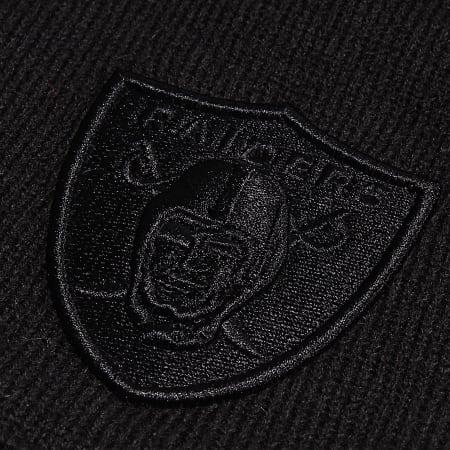 New Era - Bonnet Dark Base Skull 12040563 Oakland Raiders Noir
