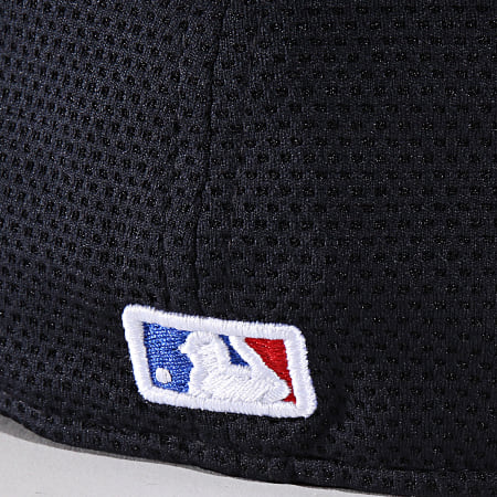 New Era - Casquette Fitted 59Fifty Training Mesh 12040187 New York Yankees Bleu Marine