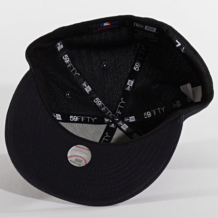 New Era - Casquette Fitted 59Fifty Training Mesh 12040394 New York Yankees Gris Anthracite