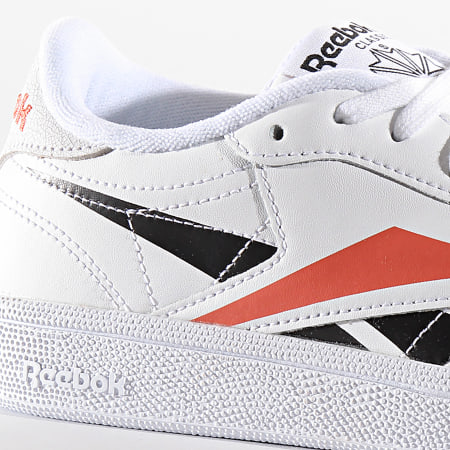 Reebok Baskets Classic Leather EG1455 White Black Rosette