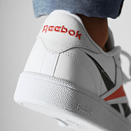 Reebok - Baskets Classic Leather EG1455 White Black Rosette