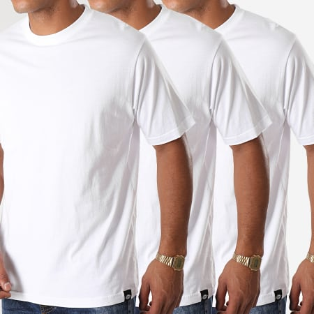 Dickies - Lot De 3 Tee Shirts Blanc