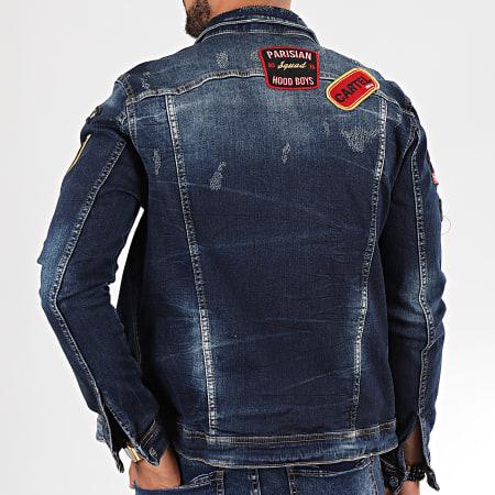 Uniplay - Veste Jean 131 Bleu Denim