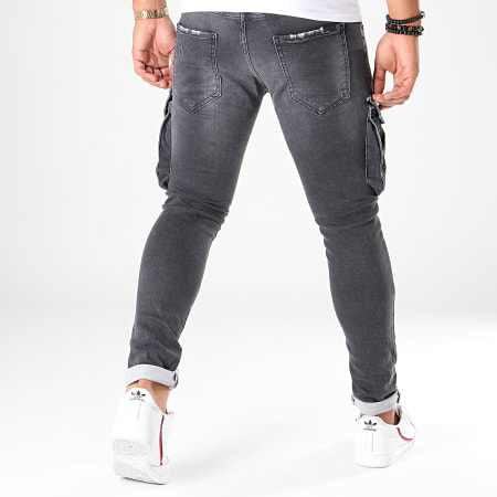 Uniplay - Jean Slim 132 Gris Antracite