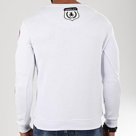 Uniplay - Sweat Crewneck HD-3 Blanc