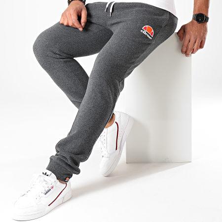 Ellesse - Pantalon Jogging Ovest SHS01763 Gris Anthracite Chiné