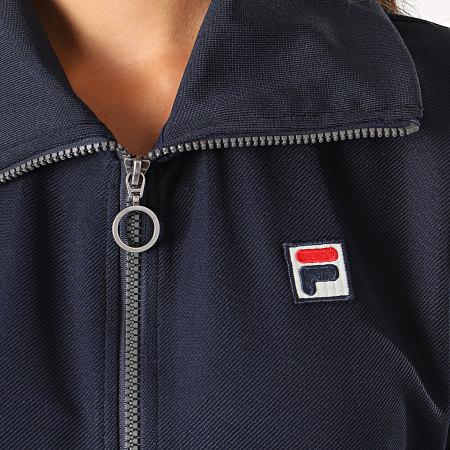 Fila - Veste Zippée Femme Levidwen Bleu Marine