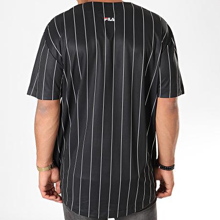 Fila Tee Shirt De Baseball Dawn 681272 Noir