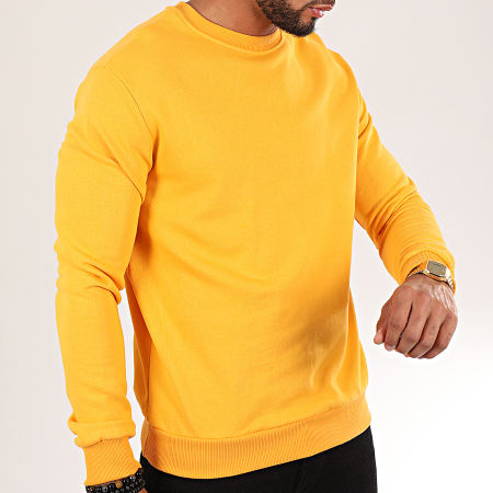 Uniplay - Sweat Crewneck UY450 Jaune Moutarde