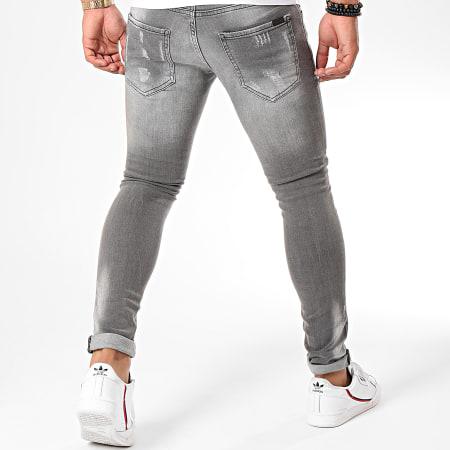 Uniplay - Jean Slim 125 Gris