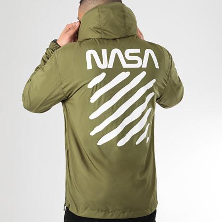 NASA - Coupe-Vent Skid Vert Kaki