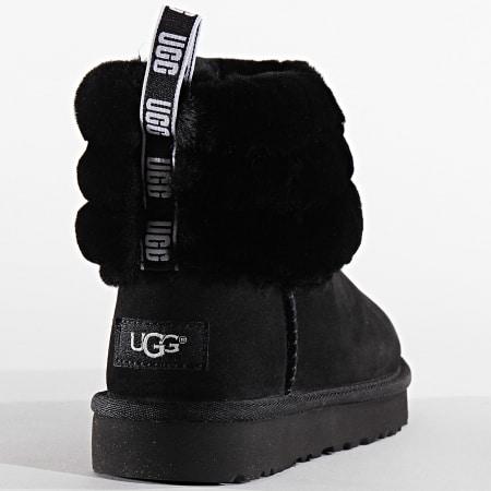 UGG - Bottines Femme Fluff Mini Quilted 1098533 Black