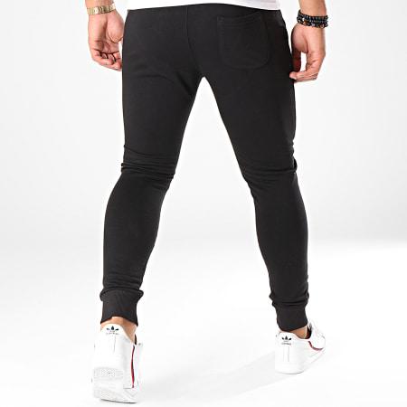 7 Binks - Pantalon Jogging Logo Noir Blanc