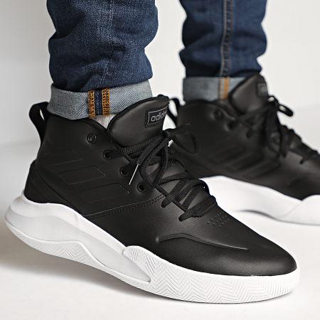 adidas - Baskets Own The Game EE9638 Footwear White Core Black Night Metallic