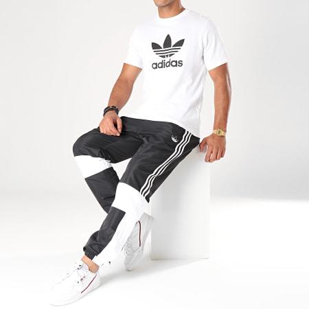 adidas Pantalon Jogging A Bandes ASYMM ED6244 Noir Blanc